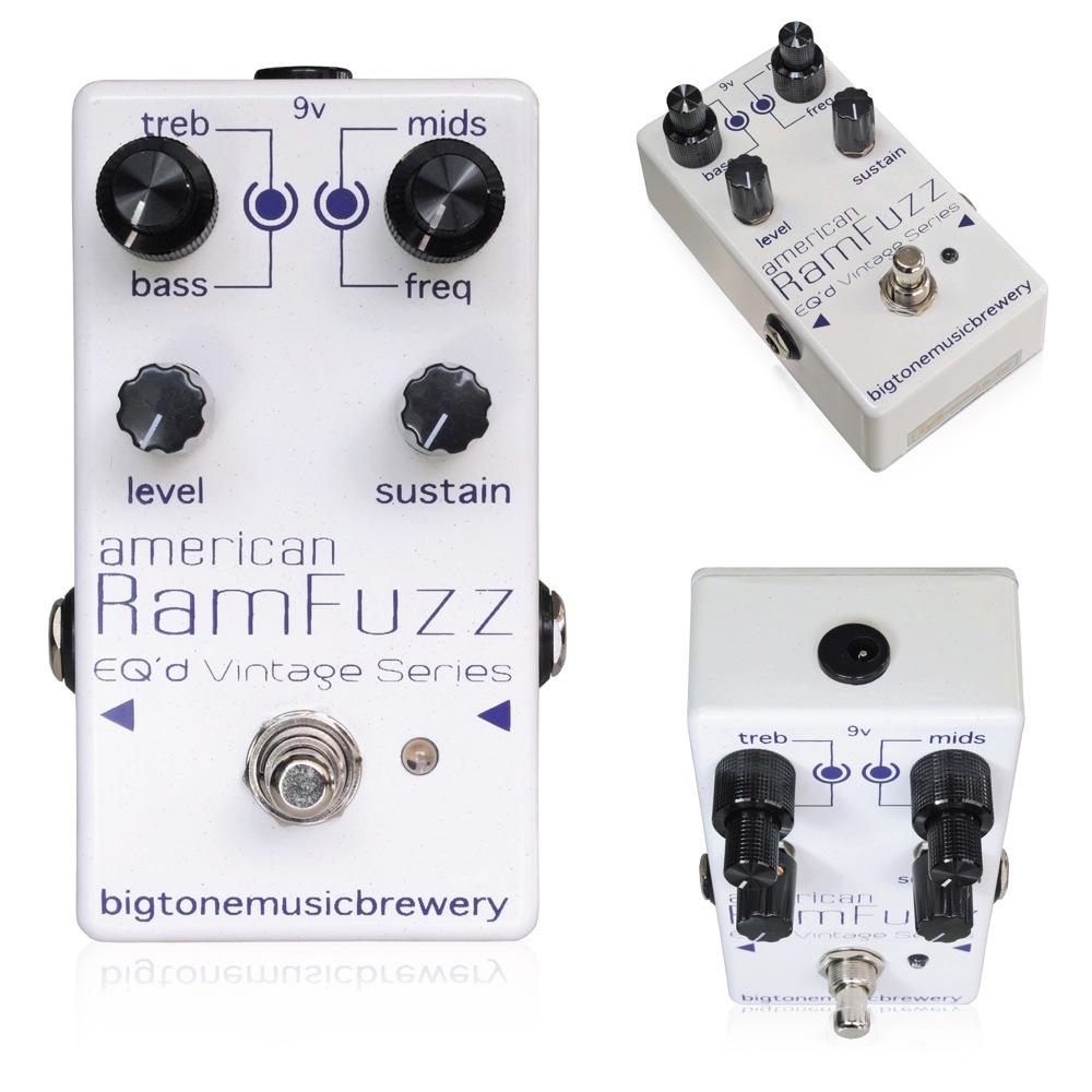 BigToneMusicBrewery American RamFuzz ギターエフェクター