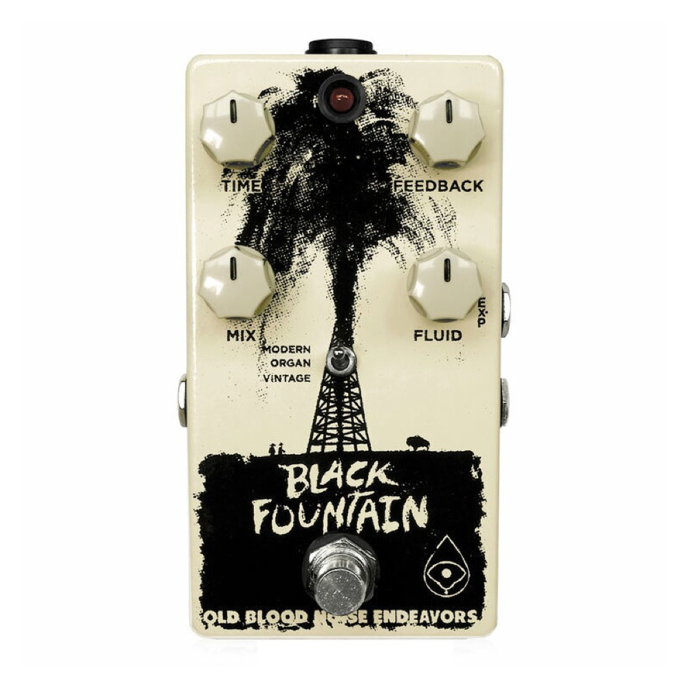 Old Blood Noise Endeavors Black Fountain Delay ギターエフェクター