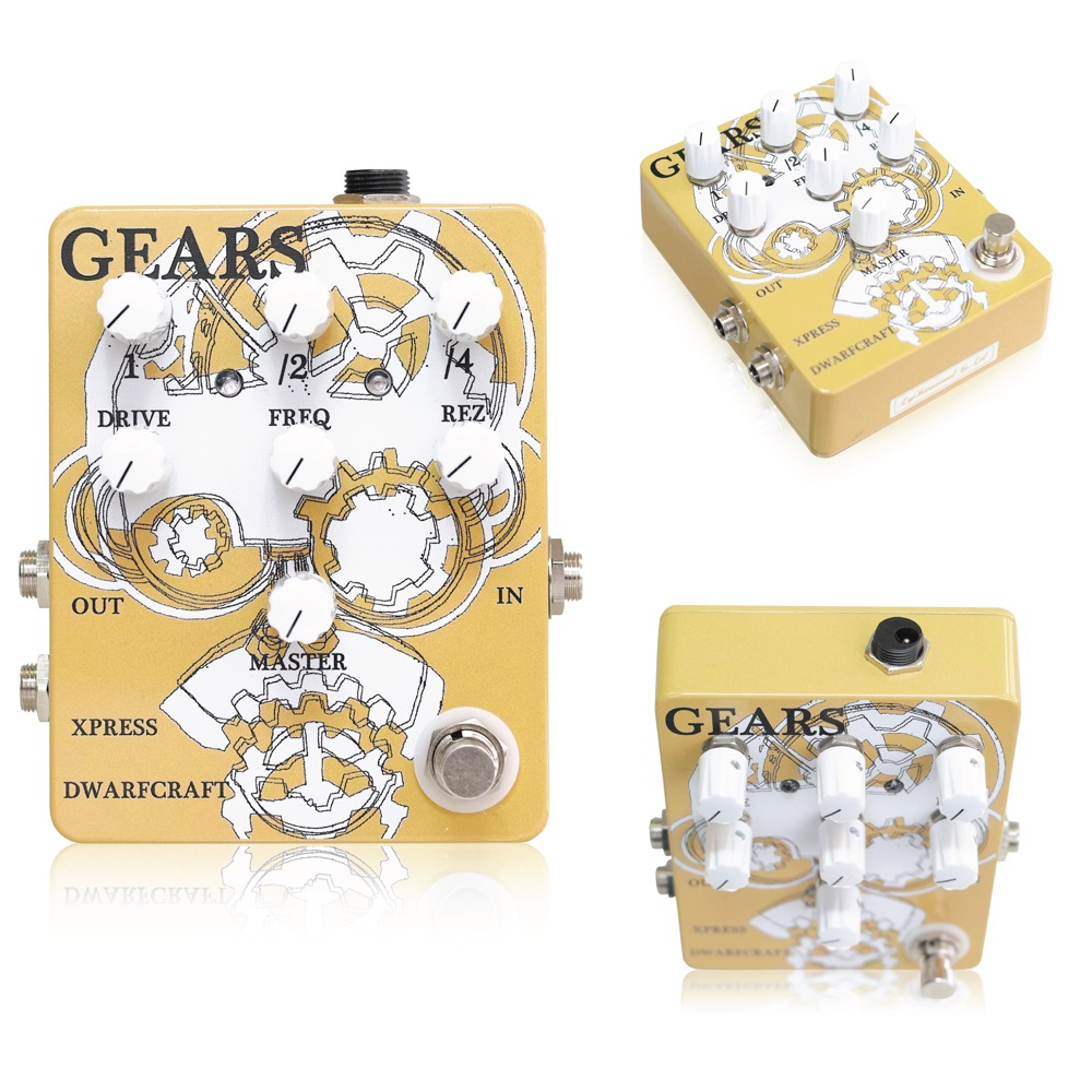 Dwarfcraft Devices Gears ギターエフェクター