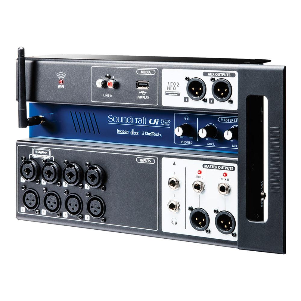 Soundcraft Ui12 リモートコントロール デジタルミキサー