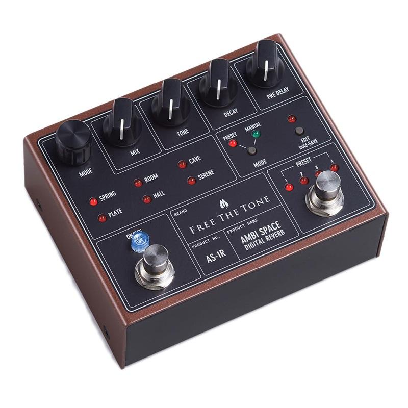 Free The Tone AS-1R AMBI SPACE DIGITAL REVERB リバーブ エフェクター