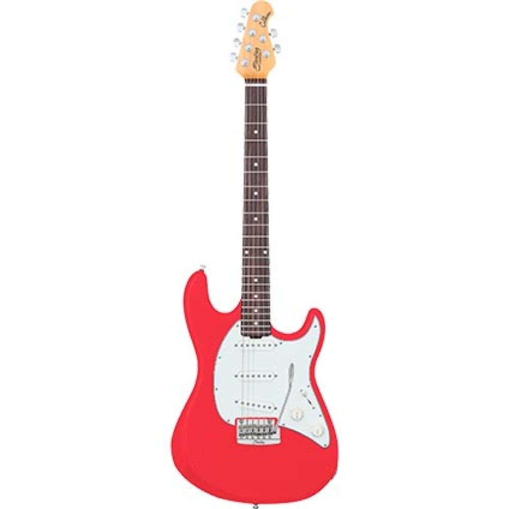 Sterling by MUSIC MAN CT50 Cutlass Fiesta Red エレキギター