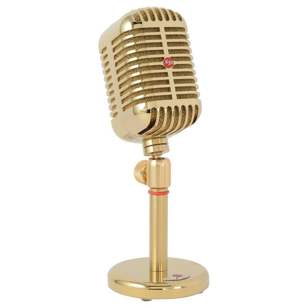 JIMMY STUDIO DESIGN R50 Gold ジャズマイク型 Bluetooth スピーカー