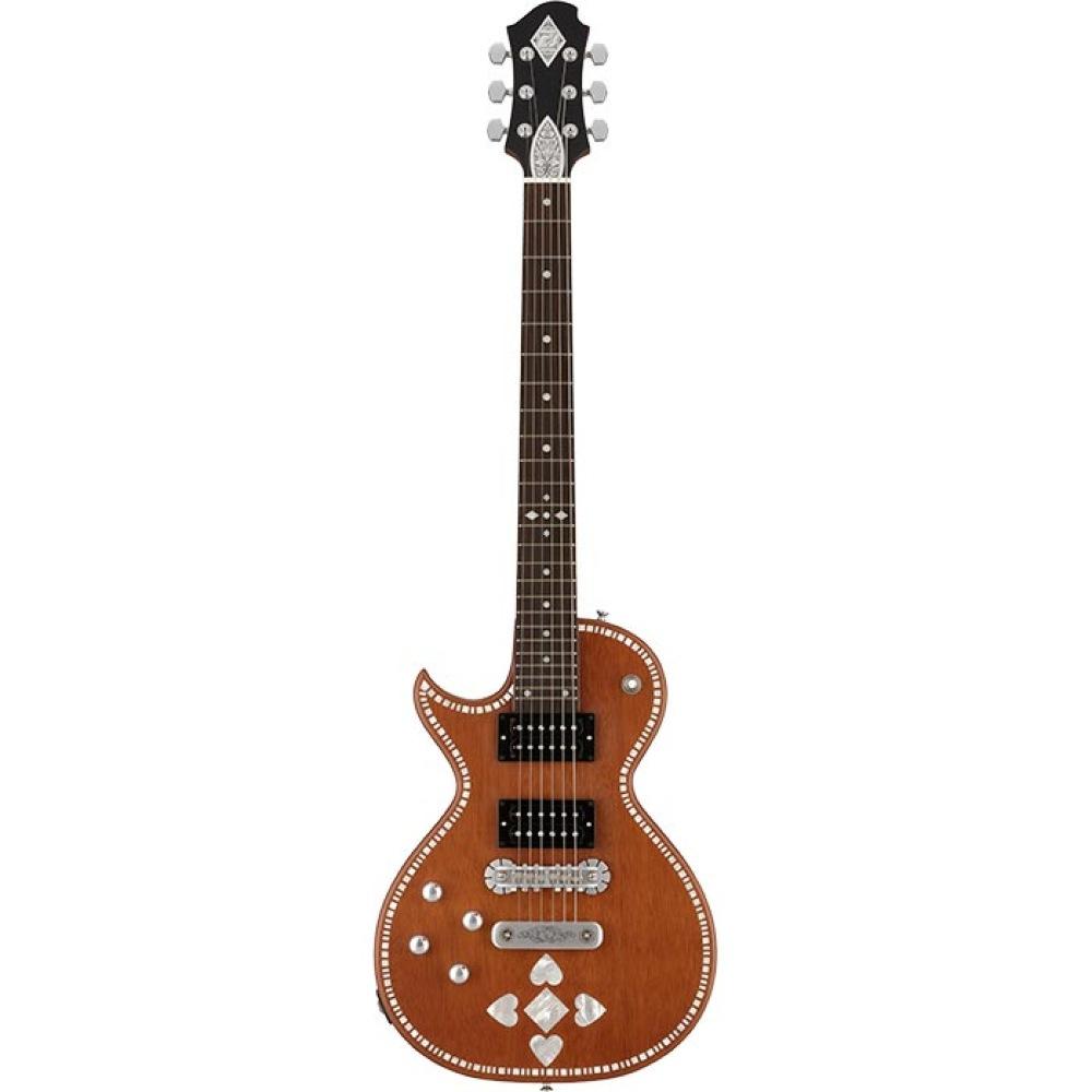 ZEMAITIS A24SU LH NATURAL PEARL HEART レフトハンドモデル エレキギター