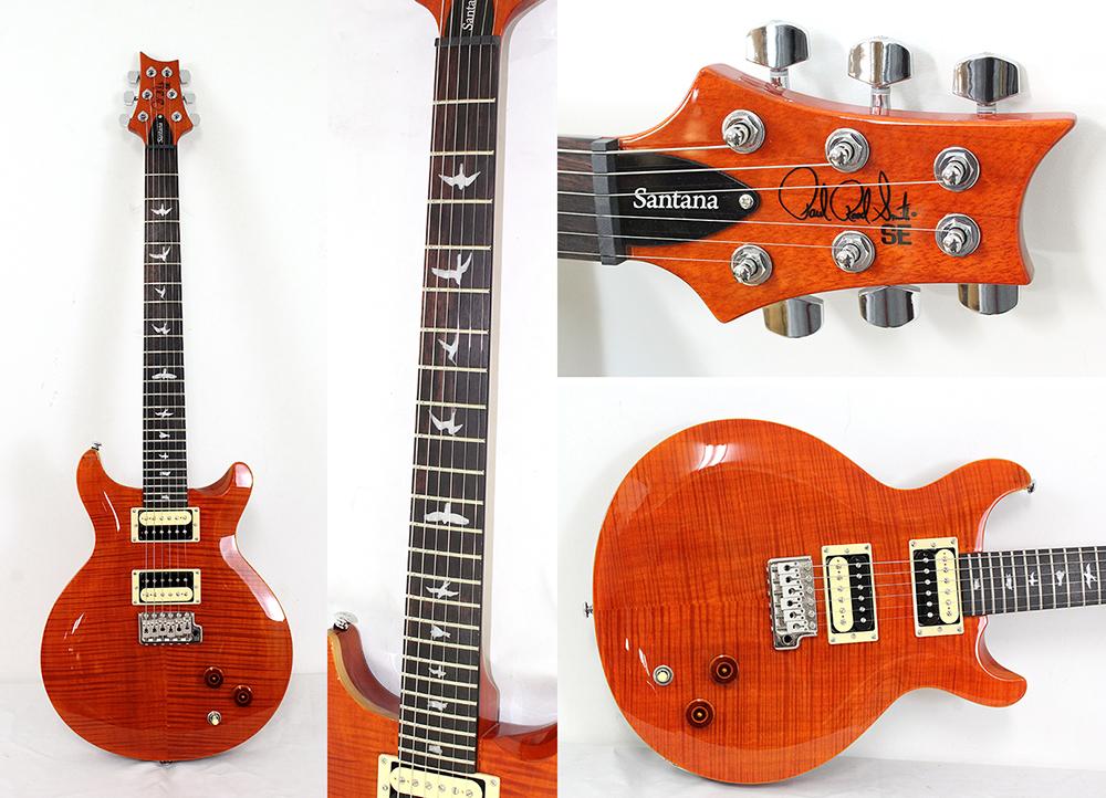PRS SE Calros Santana N OR エレキギター