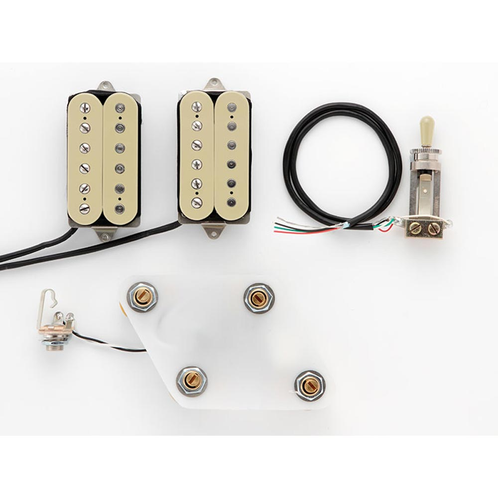 DiMarzio GG2101A1CR Pre-Wired Pickup Set for Les Paul Vintage Set Cream プリワイアードピックアップ