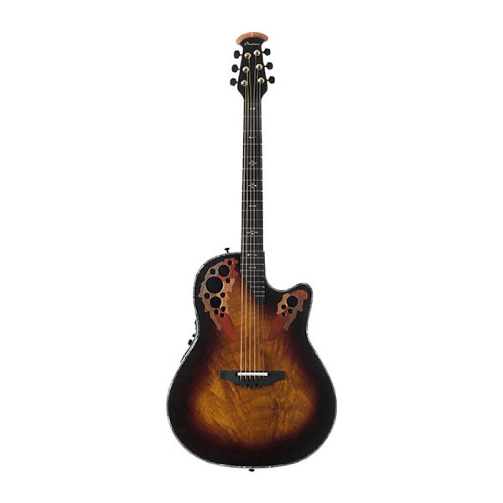 Ovation C2078AXP-AF Elite Plus Okume Feather エレクトリックアコースティックギター