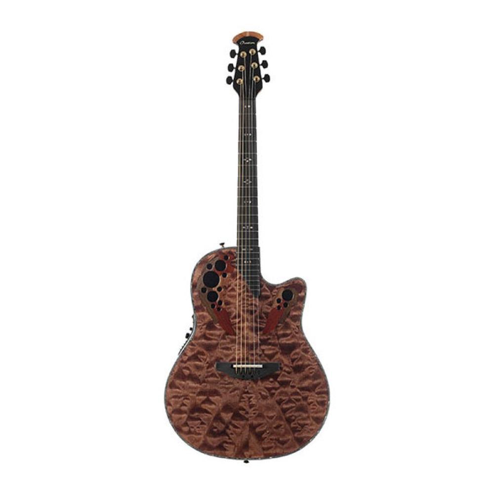 Ovation C2078AXP-TE Elite Plus Tiger Eye エレクトリックアコースティックギター