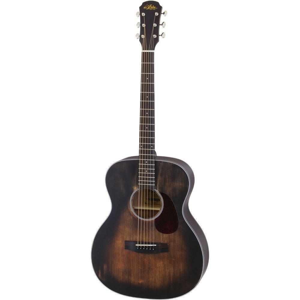 ARIA 101DP MUBR Auditorium Delta Player リッターケース付き アコースティックギター