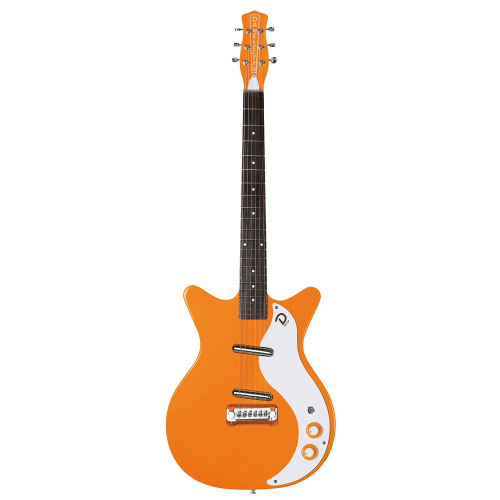 "Danelectro 59 ""M"" N.O.S + ORANGE-ADELIC エレキギター"