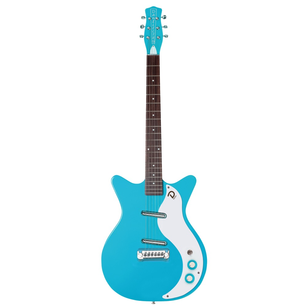 "Danelectro 59 ""M"" N.O.S + BABY COME BACK BLUE エレキギター"