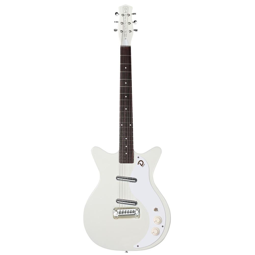 """Danelectro 59 """"M"""" N.O.S + OUTA-SAIGHT WHITE エレキギター"""