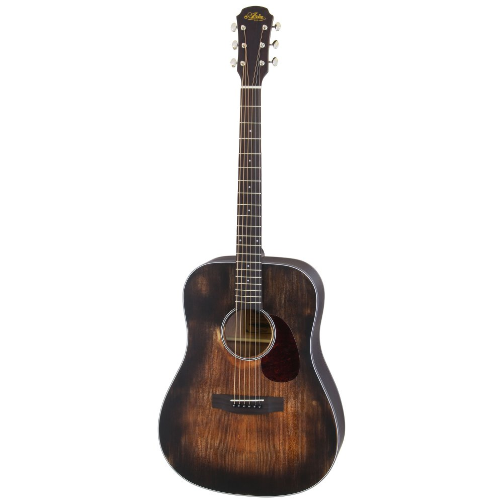 ARIA 111DP MUBR Dreadnought Delta Player リッターケース付き アコースティックギター