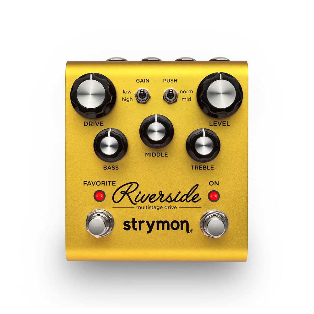 strymon Riverside マルチステージドライブ