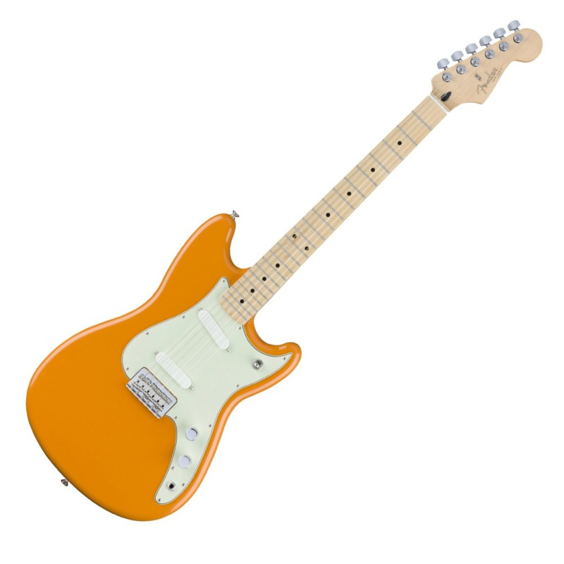 Fender Duo Sonic MN Capri Orange エレキギター
