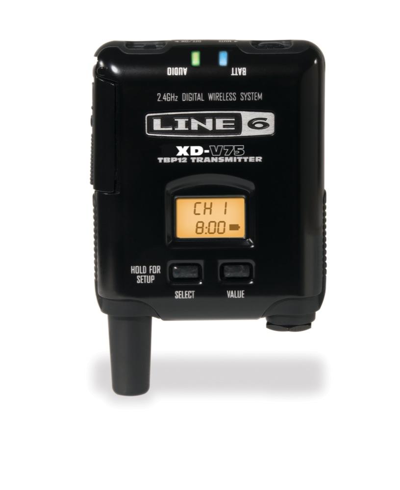 LINE6 V75-BP ボディパックトランスミッター