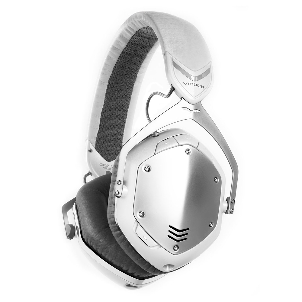 V-moda XFBT-WSILVER Crossfade Wireless White Silver ワイヤレスヘッドホン