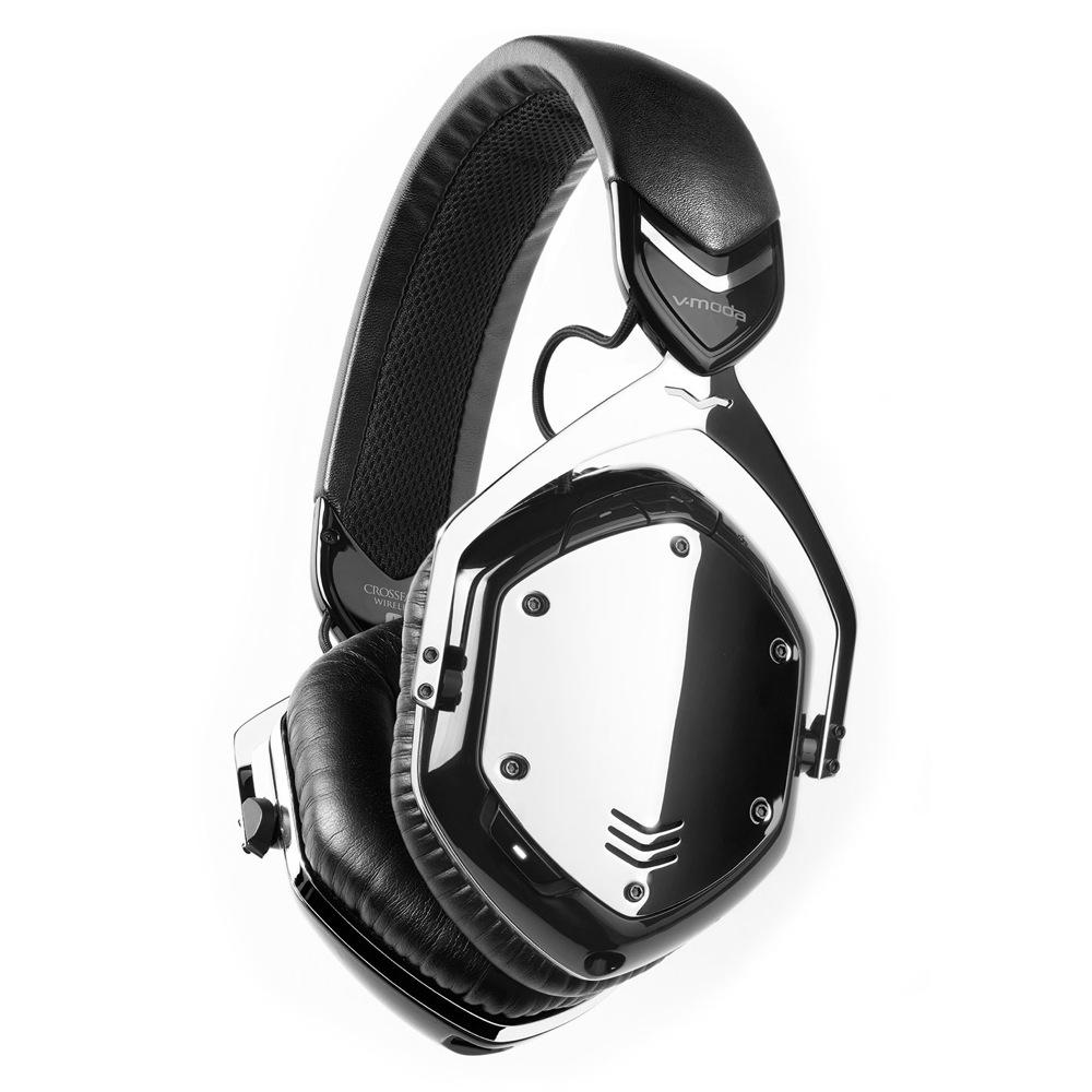 V-moda XFBT-PHCHROME Crossfade Wireless Phantom Chrome ワイヤレスヘッドホン