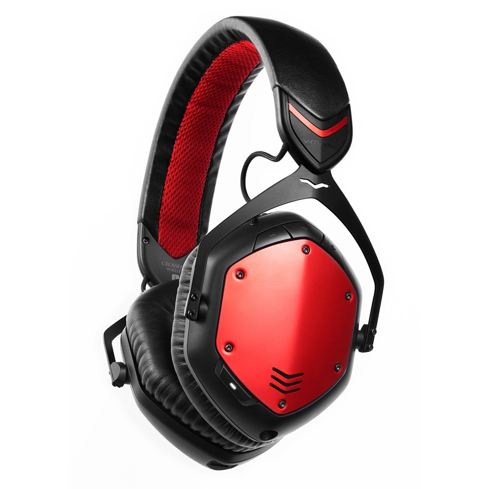 V-moda XFBT-ROUGE Crossfade Wireless Rouge ワイヤレスヘッドホン