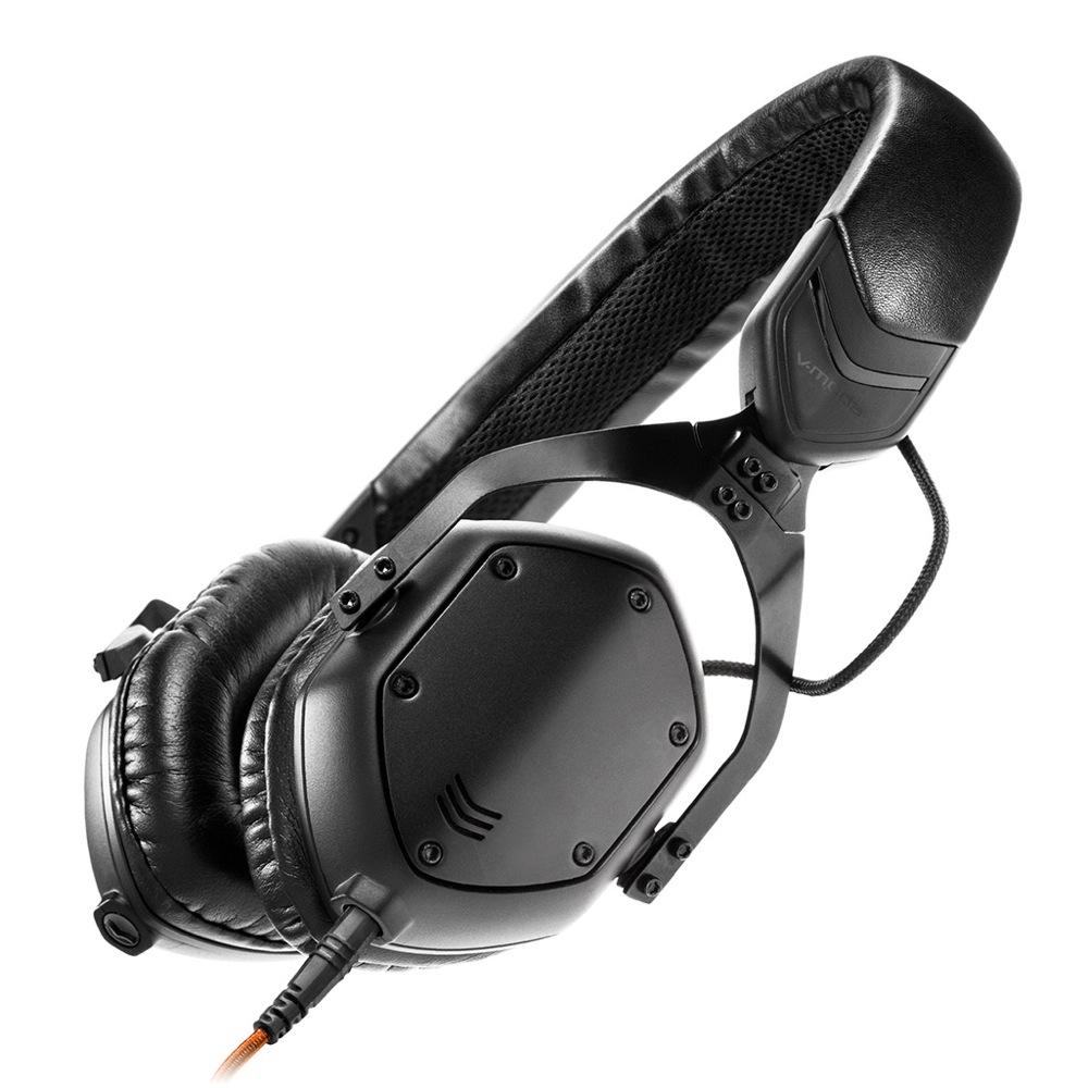 V-moda XS-U-MBLACKM XS Mat Black ヘッドホン