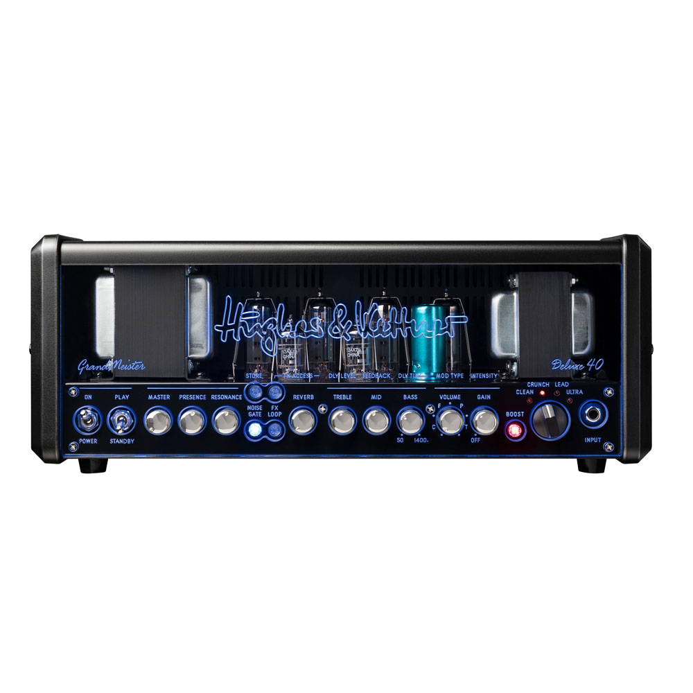 Hughes&Kettner HUK-GM40DX/H GRANDMEISTER Deluxe 40 Head オールチューブギターアンプヘッド