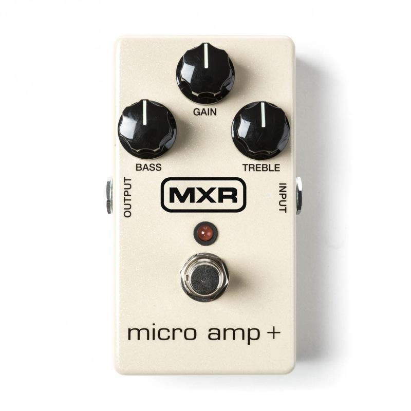 MXR M233 MICRO AMP Plus マイクロアンプ+ エフェクター