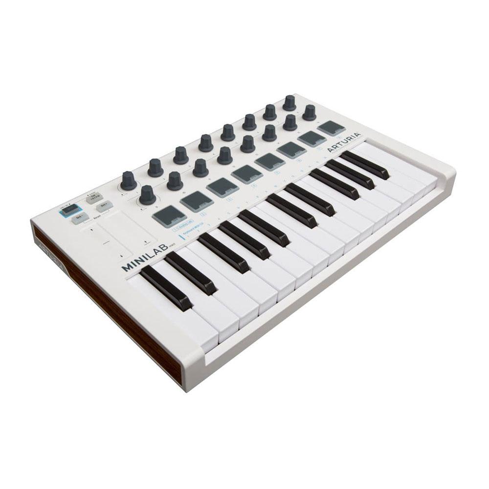 ARTURIA MiniLab MKII USB/MIDIキーボード コントローラー 【バンドルソフト付き】