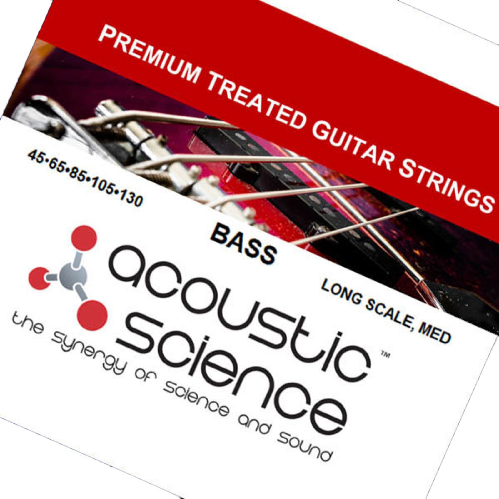 Acoustic Science LACSEB5M45130 Nickel Medium Long scale 5弦エレキベース弦