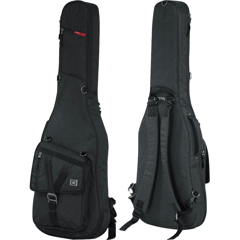 Gig Bag For The Gator Gt Electric Blk Guitar