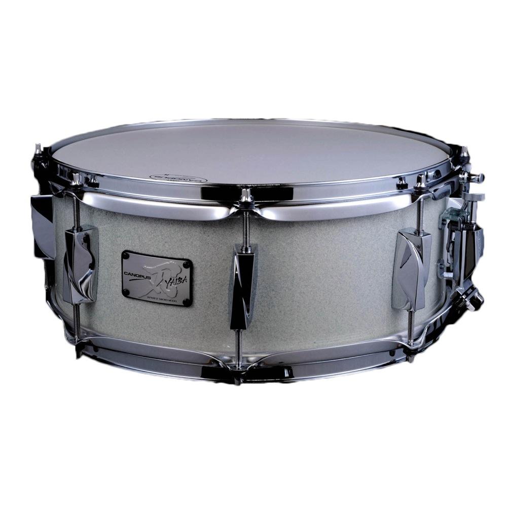 CANOPUS JSB-1455 刃 II Birch Snare Drum Ice White Sparkle LQ スネアドラム