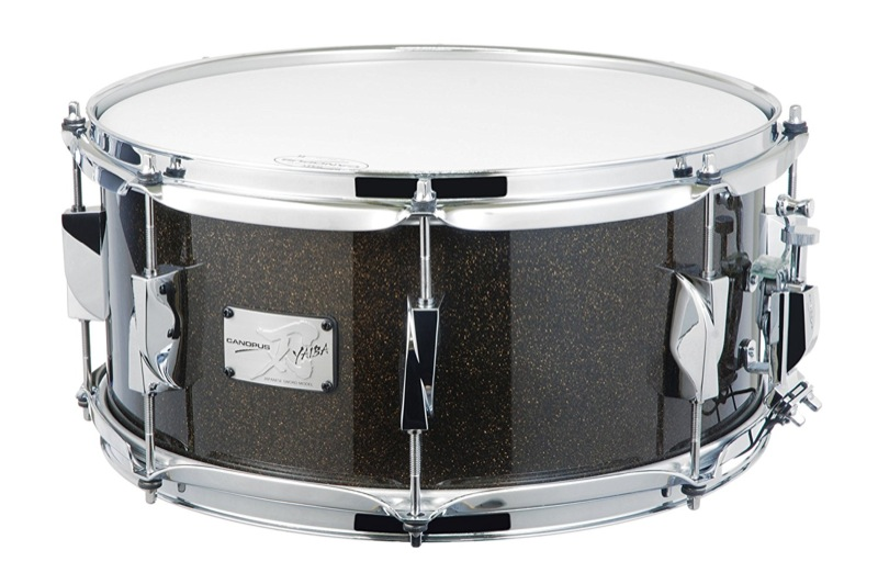 CANOPUS JSB-1465 刃 II Birch Snare Drum Ice Black Sparkle LQ スネアドラム