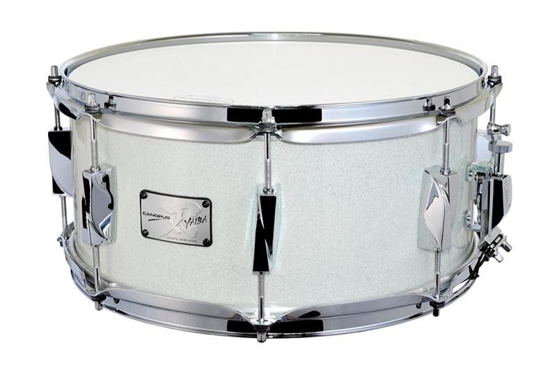 【おすすめ】 CANOPUS White JSB-1465 Snare 刃 LQ II Birch Snare Drum Ice White Sparkle LQ スネアドラム, 三珠町:cf6a0ac4 --- portalitab2.dominiotemporario.com