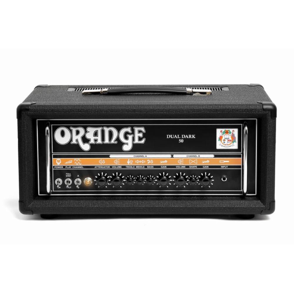 ORANGE DUAL DARK 50 ギターアンプヘッド