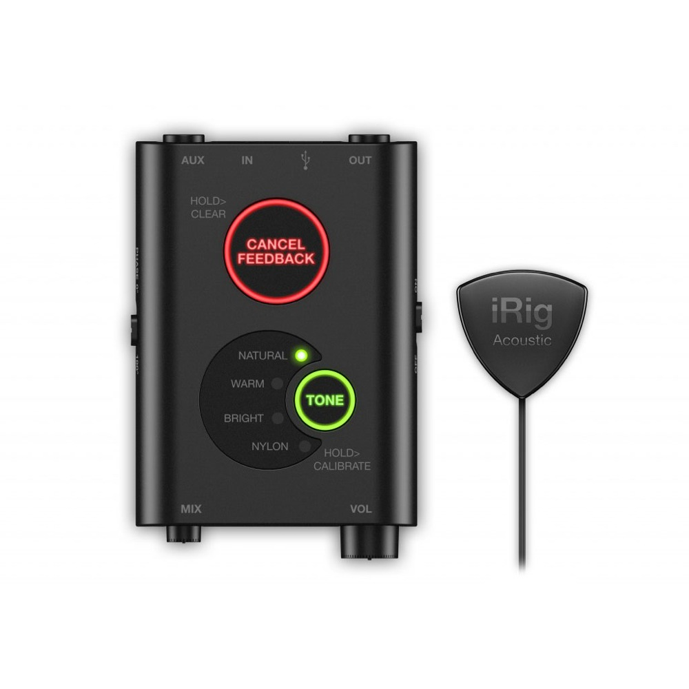 IK Multimedia iRig Acoustic Stage デジタルマイクシステム