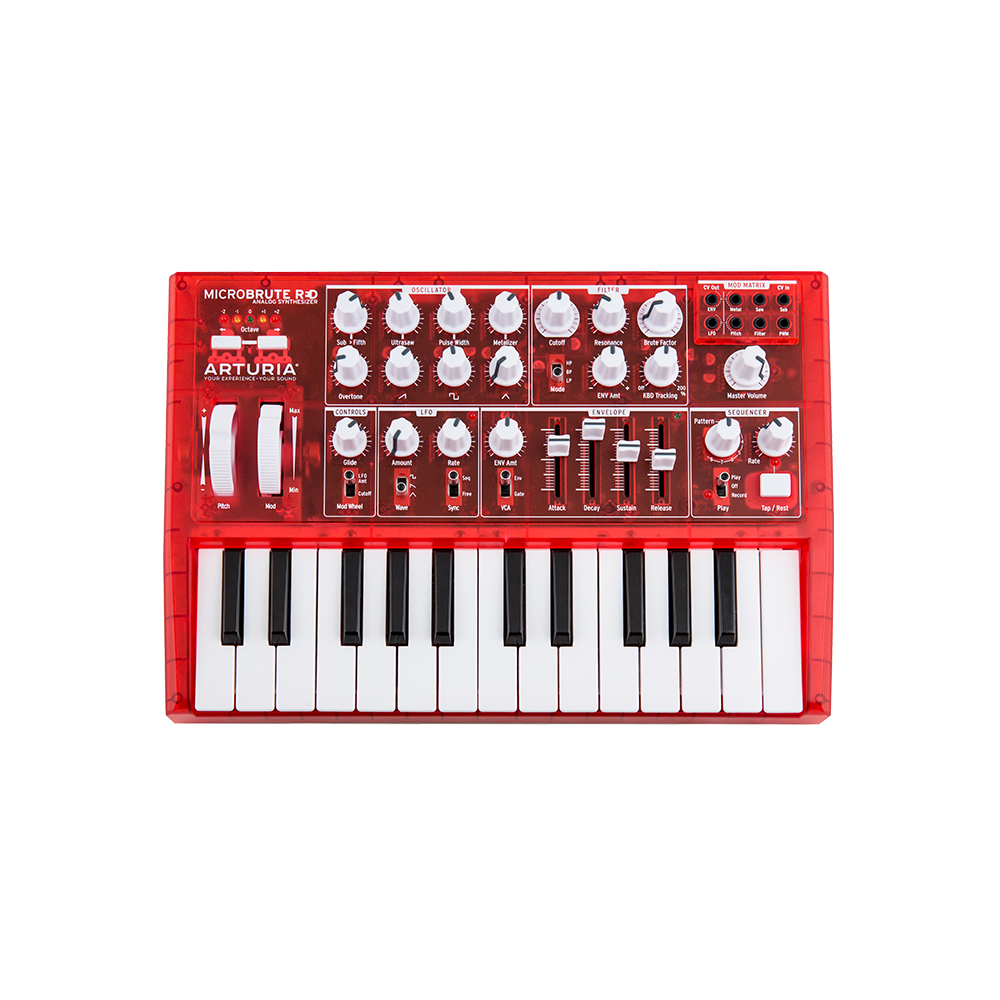 ARTURIA MicroBrute RED アナログシンセサイザー