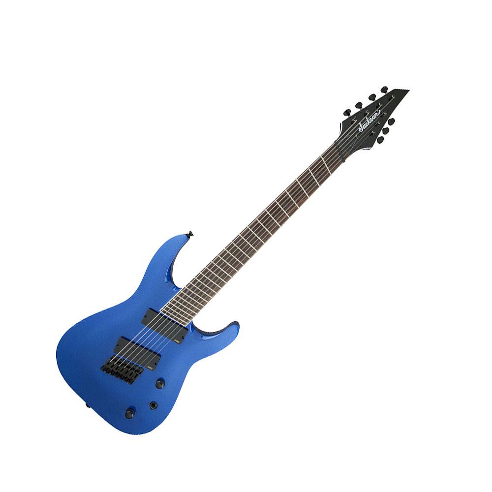 Jackson X Series Soloist Archtop SLAT7 MS Metallic Blue 7弦エレキギター