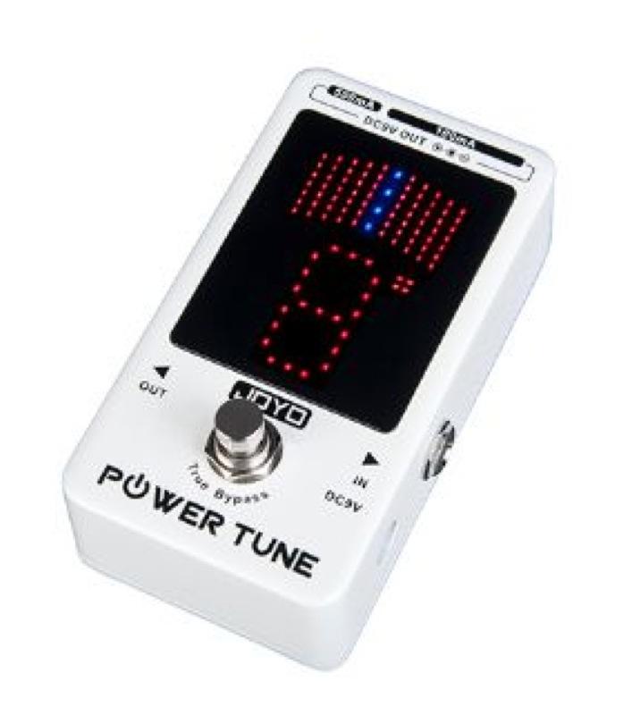 JOYO Power Tune JF-18 R튜너/전원 공급 장치