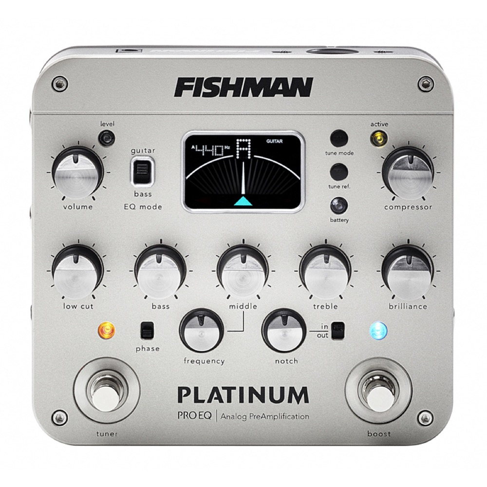 Fishman Platinum Pro EQ/DI Analog Preamp プリアンプ
