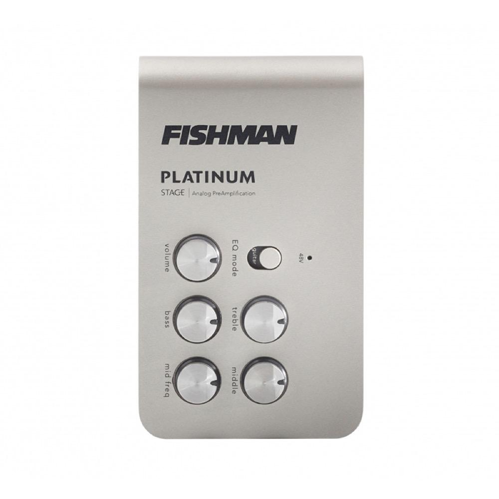 Fishman Platinum Stage EQ/DI Analog Preamp プリアンプ