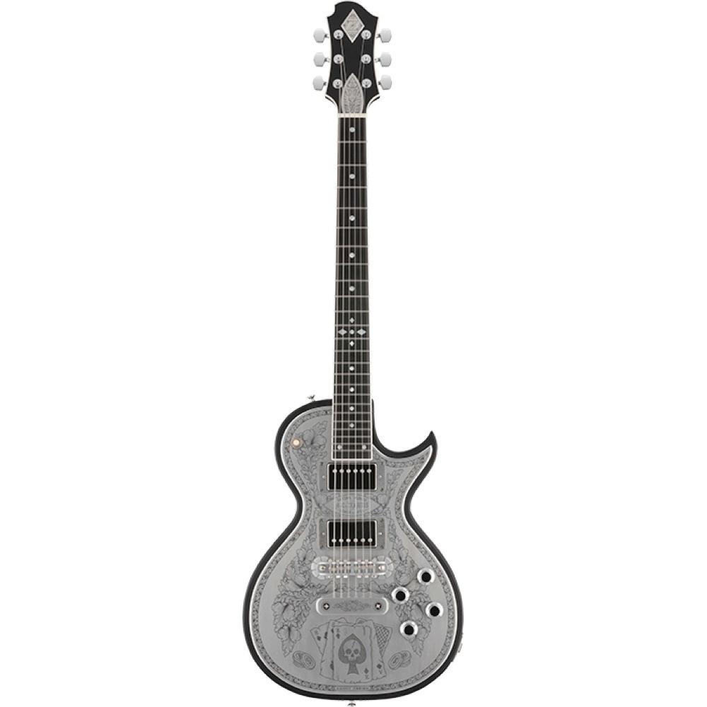 ZEMAITIS CS24MF ACES & EIGHTS Black エレキギター