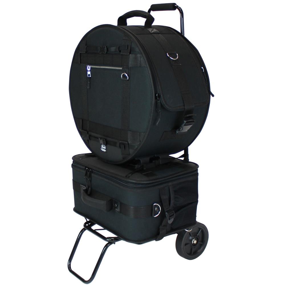 Pearl PSC-BJSPCA スネア&ペダルケース キャリーカート付き