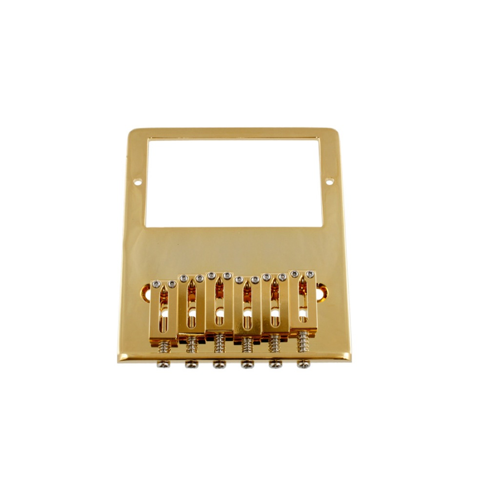 ALLPARTS BRIDGE 6020 Gold Gotoh Humbucking Bridge for Telecaster テレキャスターブリッジ ハムバッカー用