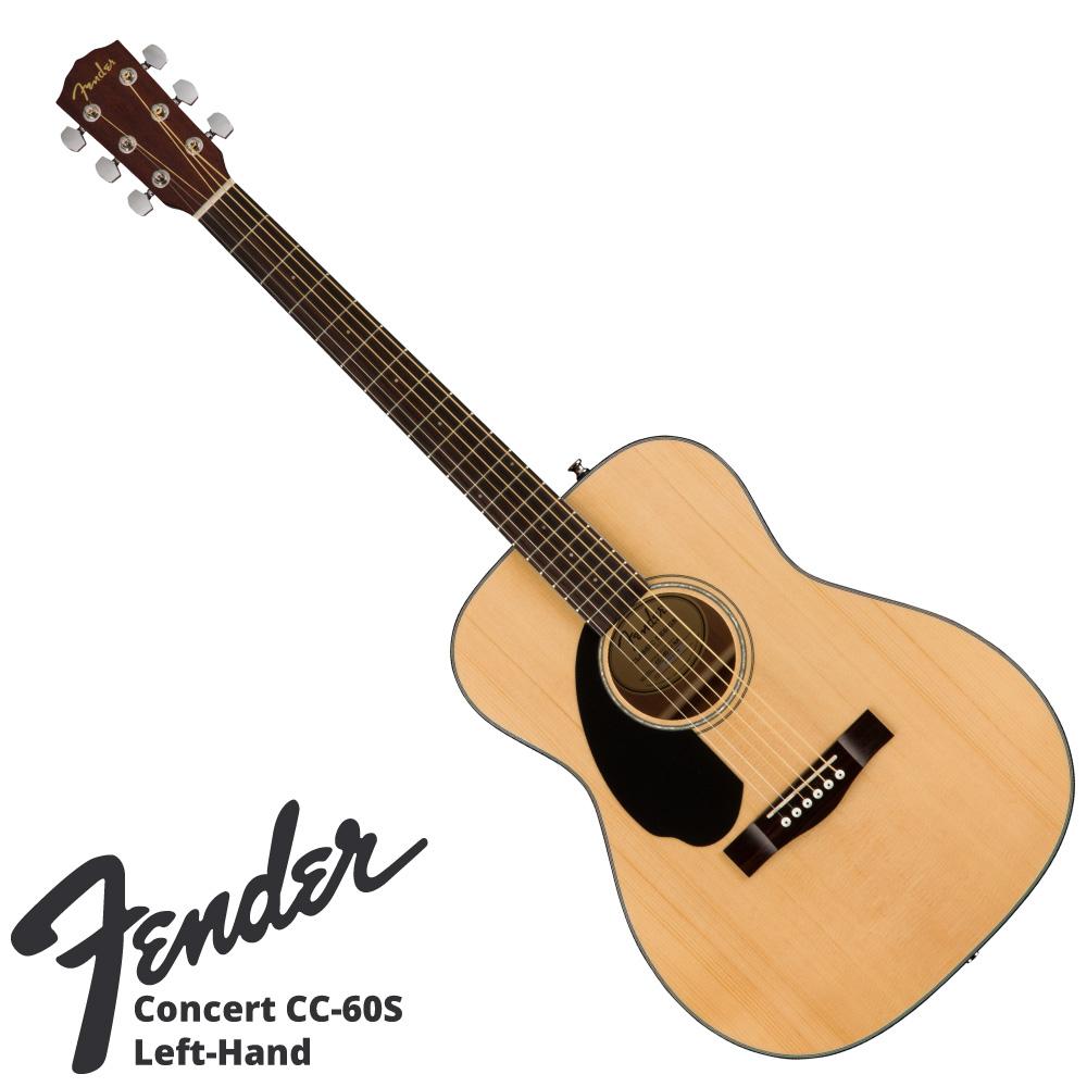 Fender CC-60S LH NAT アコースティックギター