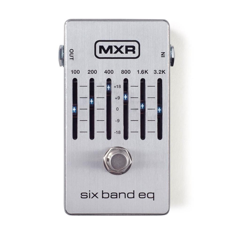 MXR M109S Six Band Graphic EQ 6バンドグラフィックイコライザー