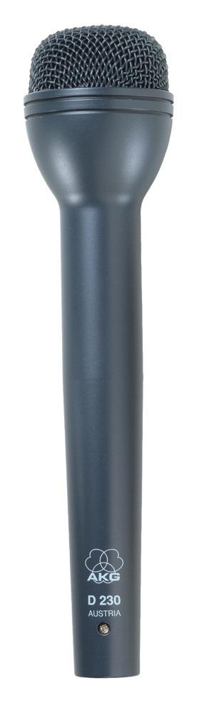 AKG D230 ハンドヘルド型ダイナミックマイク