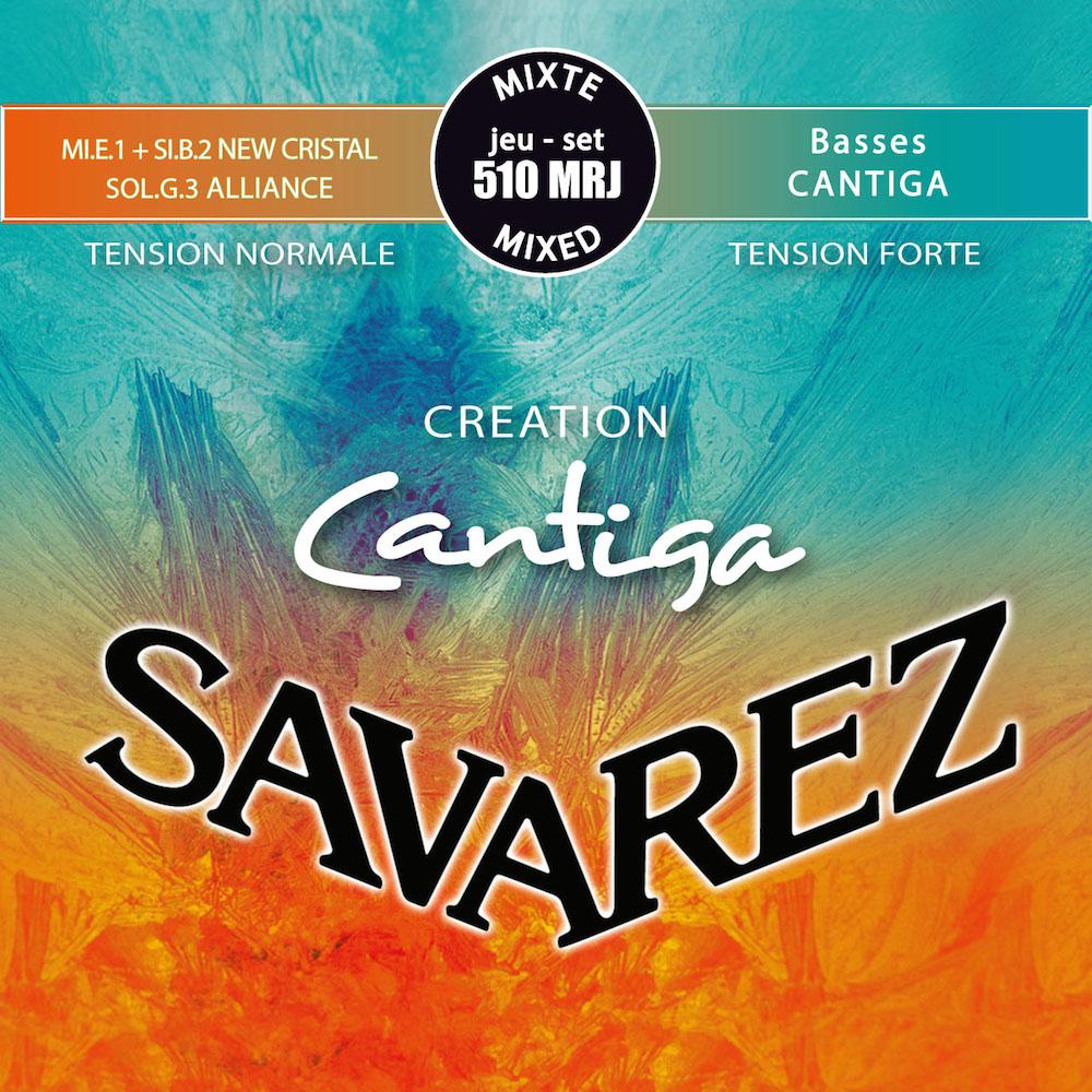 サバレス クリエイション・カンティーガ SAVAREZ 510MRJ CREATION Cantiga Mixd tension SET クラシックギター弦