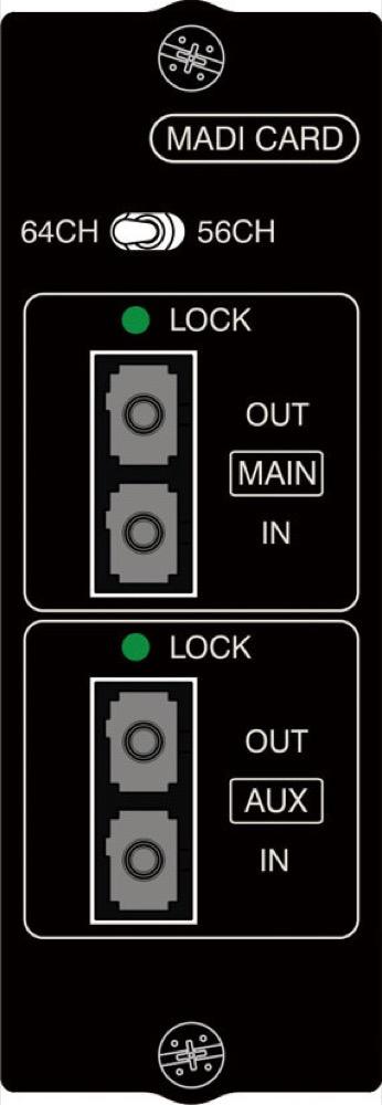 Soundcraft MADI option card - Multi Mode Optical オプションカード