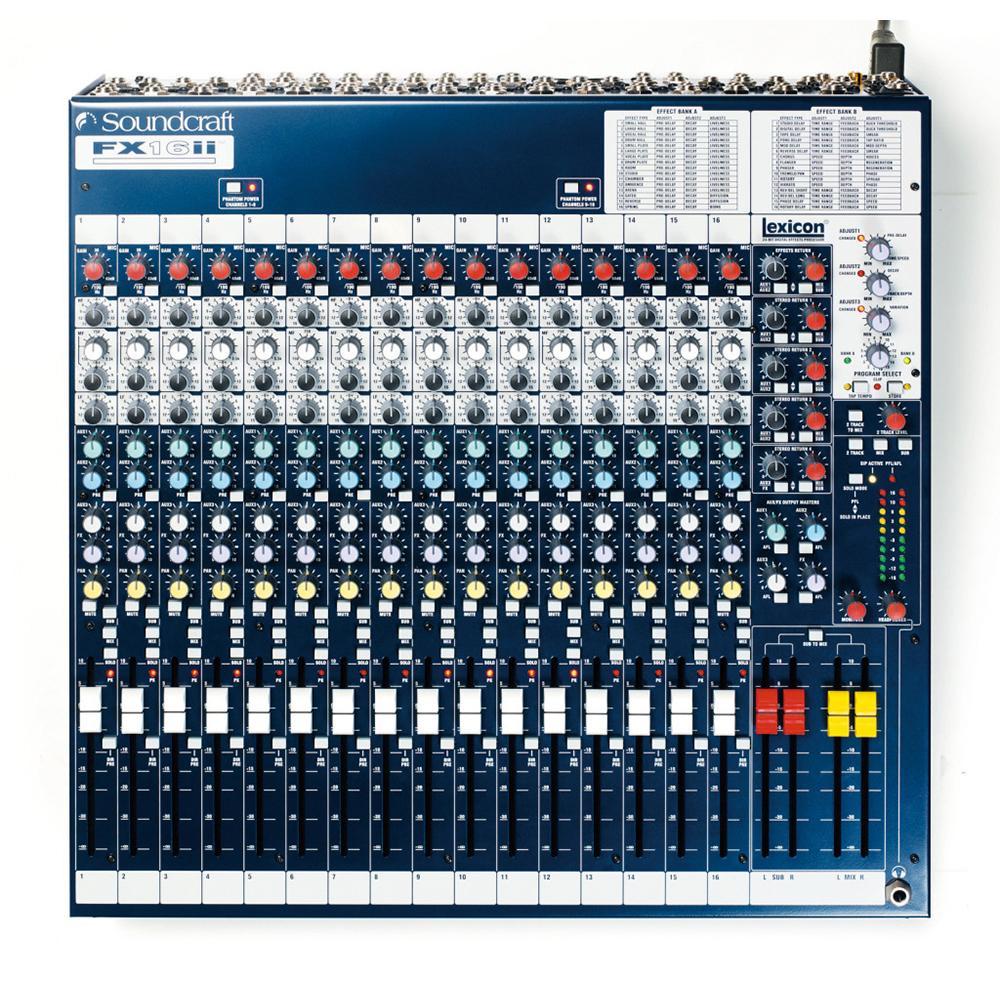 Soundcraft FX16 II アナログミキサー