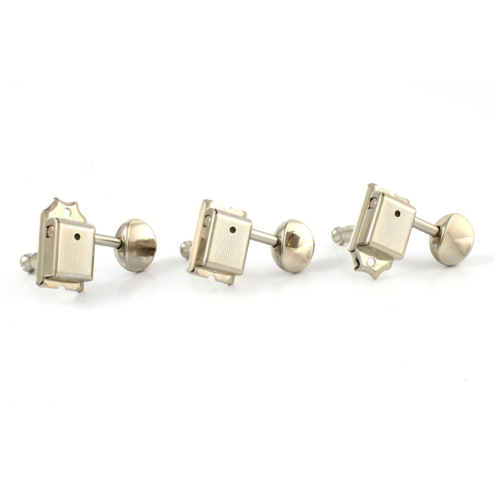 ALLPARTS TUNER 7002 GOTOH 6-in-line Staggered Keys Nickel ペグ