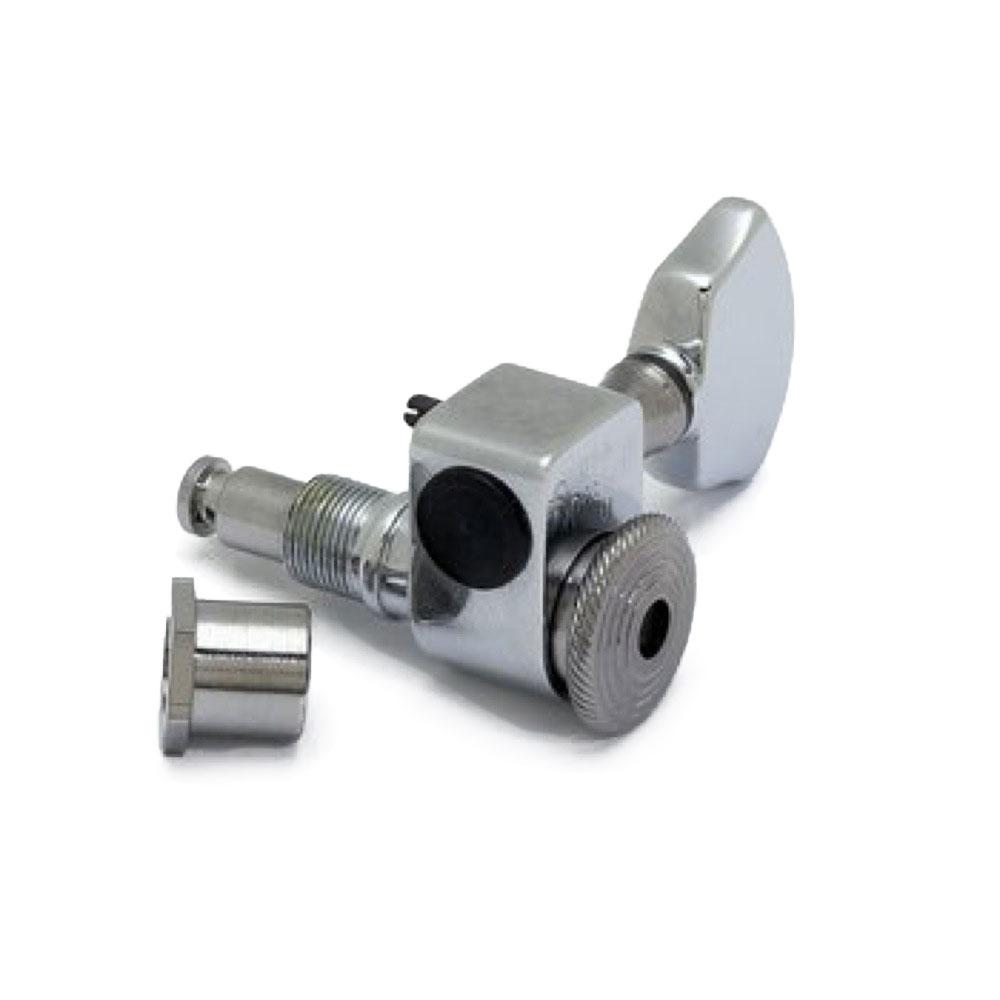 ALLPARTS TUNER 7015 Sperzel 3x3 Chrome Locking Tuners Regular Mountロック式ペグ